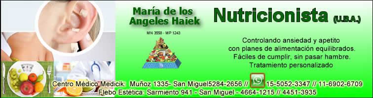 Nutricionista, Angeles Haiek